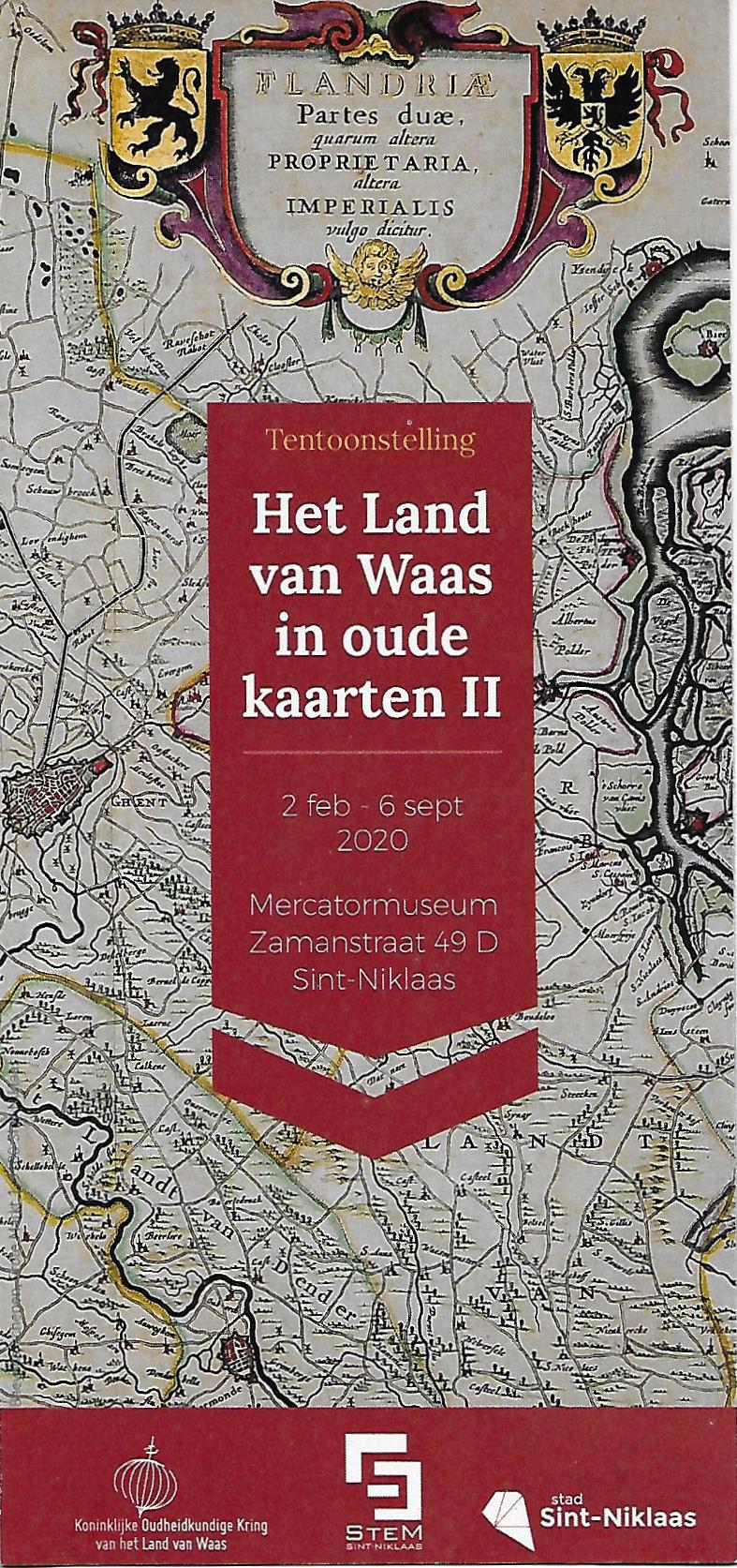 Het Land van Waas in oude kaarten II